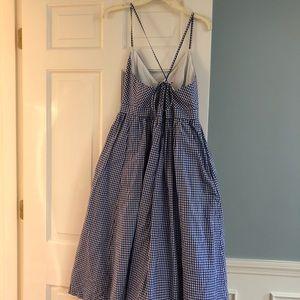 Gingham dress from JCrew